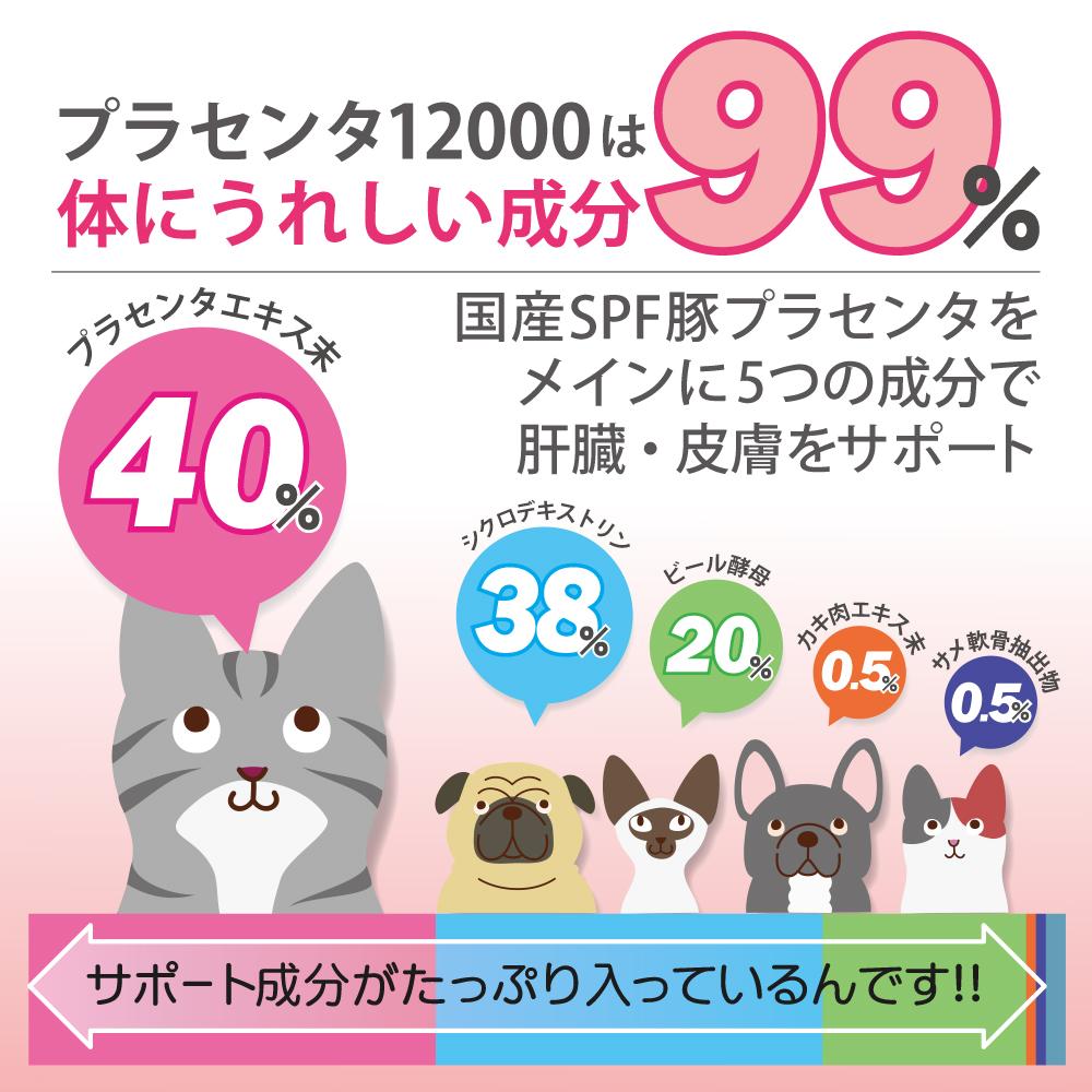 犬猫ペット用プラセンタ