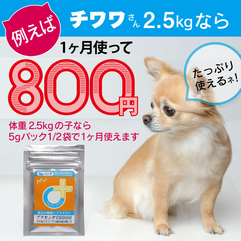 犬猫ペットの国産SPF豚プラセンタエキス末-1